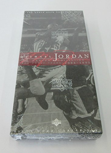 1998 Upper Deck Michael Jordan Career Collection Factory Set (60 Cards)