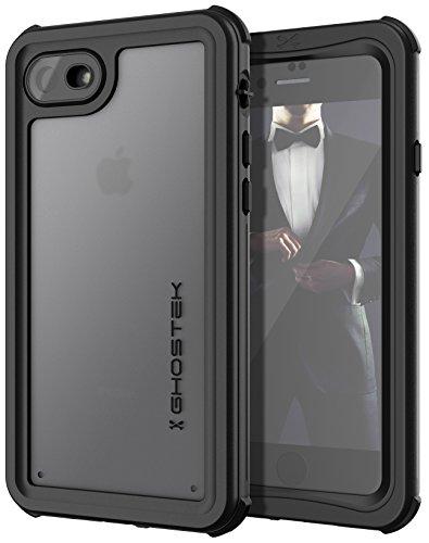 Ghostek Nautical Series Apple iPhone 8 & 7 Waterproof Case Shockproof Outdoor | Black ()