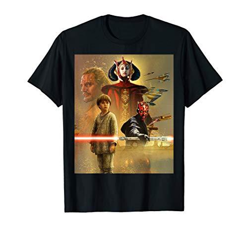 - Star Wars Celebration Mural The Phantom Menace T-Shirt