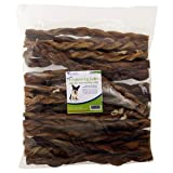 Pet's Choice Pharmaceuticals Braided Bully Sticks (Pack of 25), 12''