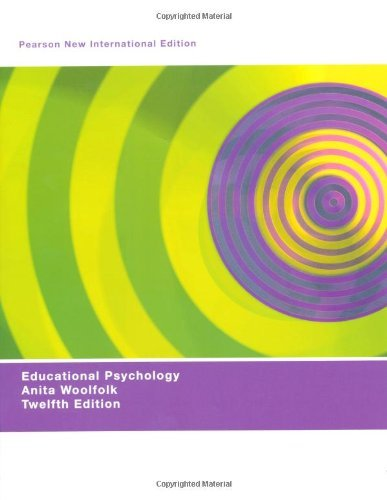 Educational Psychology by Woolfolk Anita (2013-07-26) Paperback