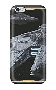 Iphone 6 Plus IIEJq1168rfgpJ Star Wars The Old Republic Ships Tpu Silicone Gel Case Cover. Fits Iphone 6 Plus