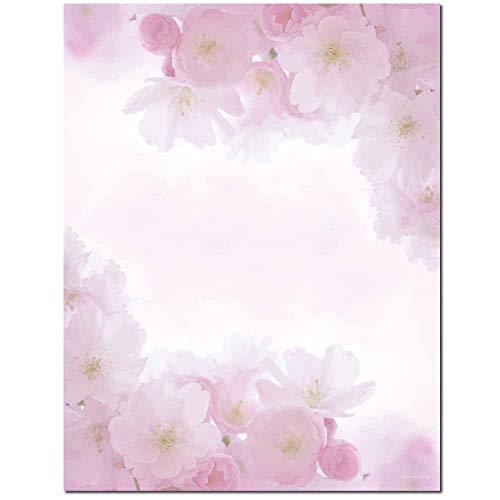 - Pink Petals Letterhead Laser & Inkjet Printer Paper (100 Pack)