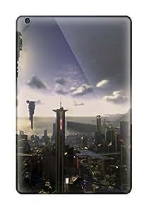 Janice K. Alvarado's Shop 8443803K27288426 TashaEliseSawyer Ipad Mini 3 Hybrid Tpu Case Cover Silicon Bumper City Of Future