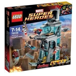 Lego Lego Avengers Age of Ultron Attack on Avengers Tower 76038 Building Set Toy block Toy Hobby [parallel import goods]