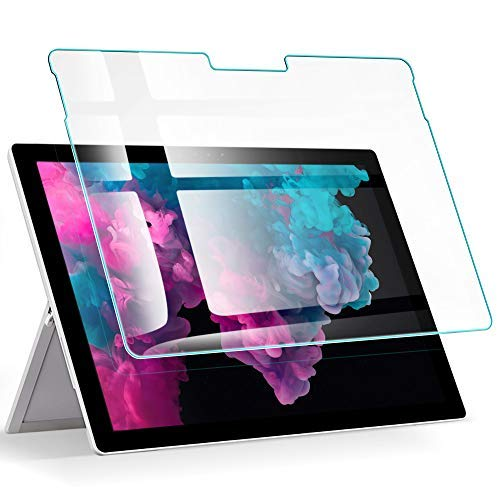 ESRScreen Protector for The Surface Pro 6, [Surface Pen Compatible] Premium HD Clear 9H Tempered Glass Screen Protector for The Microsoft Surface Pro 6(2018)