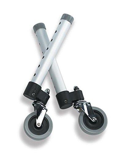 Guardian Extension Walker - Medline Wheel Attachments, 3-Inch Swivel - Guardian Walkers (Pair)