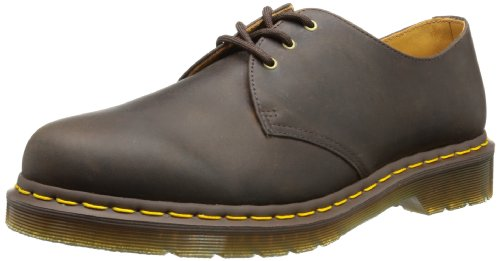 adulte Pw Martens mixte Marron Chaussures de ville Tan Analine Dr 1461 gwHWAqaf8q