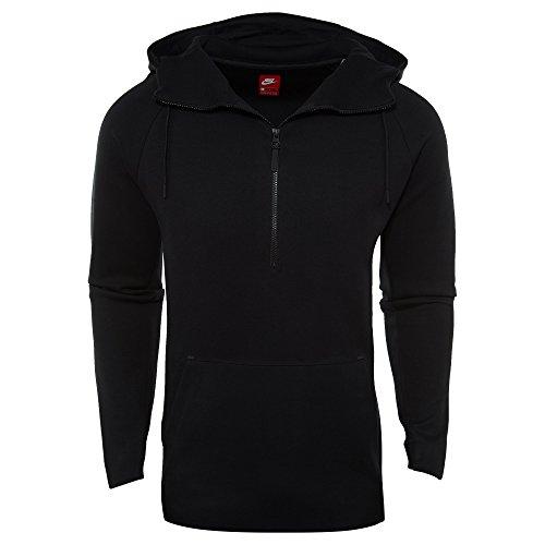 NIKE Tech Half Zip Hoodie Mens Style: 884892-010 Size: ()