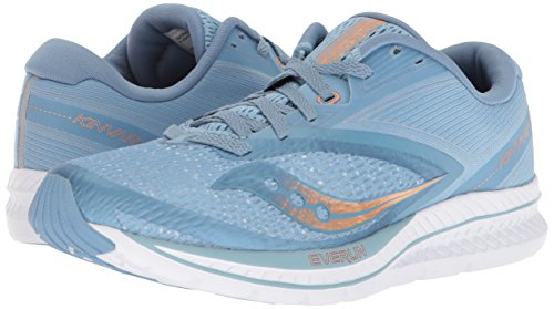 Denim Women's 9 Shoes Running Light Saucony Blue Kinvara Copper Zagxdw