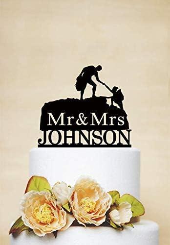 Decoración personalizada para tartas de escalada, decoración ...
