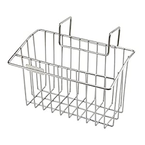 Sponge Holder, Aiduy Sink Caddy Kitchen Brush Soap Dishwashing Liquid Drainer Rack - Stainless Steel