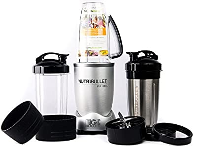 NutriBullet PRIME 12-Piece High-Speed Blender/Mixer System include Stainless Steel Cup