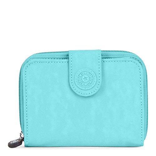 Deluxe Womans Wallet - Kipling Women's New Money Deluxe Wallet One Size Blue Splash