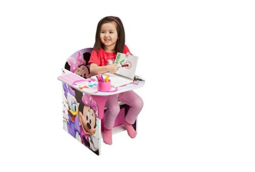 Disney Chair with Desk, Minnie