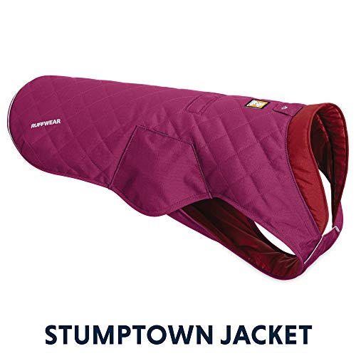 RUFFWEAR - Stumptown Insulated, Reflective Cold Weather Jacket for Dogs, Larkspur Purple, Small