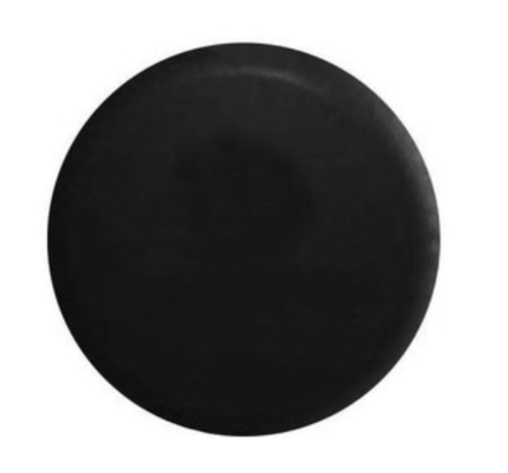 Bobbycool Size M Black 15 Inch New Universal Spare Tire Type Cover Wheel Covers For All Car PVC