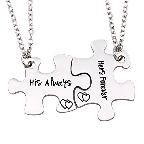 King Of Hearts Robe (Melix Home His always Her forever Couples Necklaces Set, Perfect Gift For Your Boyfriend(Always-Forever-Necklaces))