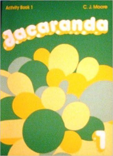 Book Jacaranda: Activity, Book 1: Activity Bk Level 1