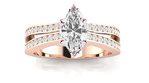 1.11 Ct Marquise Diamond - 5