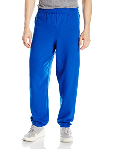 Hanes ComfortBlend Fleece Pant p650, Deep Royal, Large -
