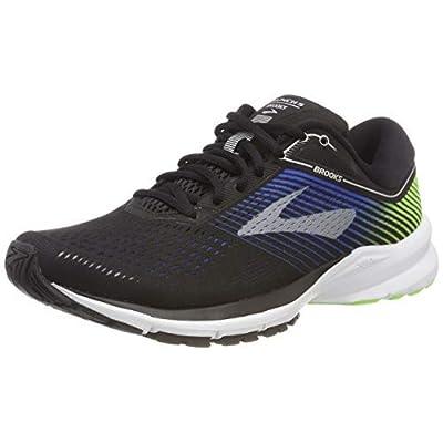 Brooks Men's Launch 5 (11.5 M US, Black/Blue/Green) | Running
