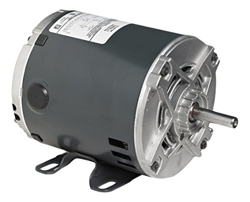 Marathon 5KC46LN0153U General Purpose Motor, 1 Phase, Open Drip Proof, Rigid Base, Ball Bearing, 3/4 hp, 1800 rpm, 1 Speed, 115/230 VAC, 56 Frame, Capacitor Start