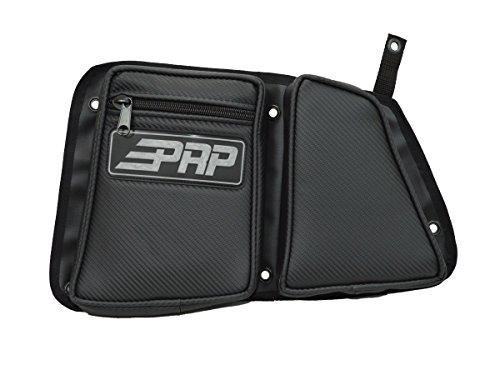 PRP Seats E40-210 Carbon Fiber Black Driver Side Rear Door Bag with Knee ()