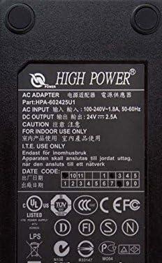 High Power OEM HPA-602425U1 adaptador de corriente CA a 24 V DC ...