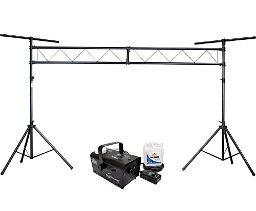 CHAUVET Hurricane H700 Fog/ Smoke Pro Machine H-700 + CH-31 DJ Truss Light Stand by CHAUVET DJ