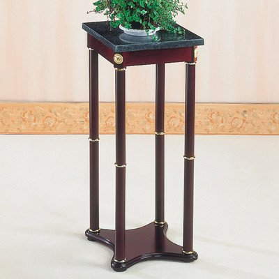 Square Marble Top Plant Stand by Coaster Furniture
