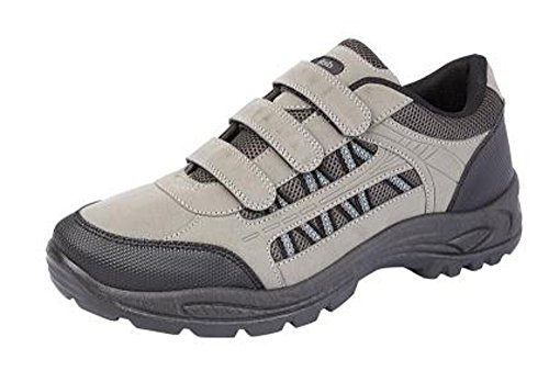Gray 12 Uk Mens 7 Trekking Velcro Scarpe Boys Trailers qccPzgwf4