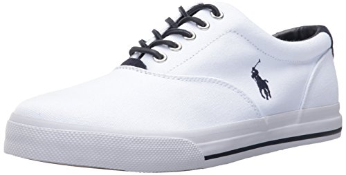 Polo Ralph Lauren Men's Vaughn-SK, Pure White, 12 D US