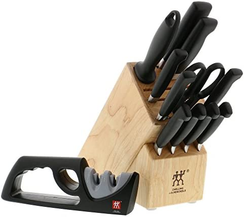 ZWILLING J.A. Henckels Four Star 12-pc Knife Block Set
