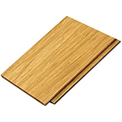 "Cali Bamboo - Solid Click Bamboo Flooring, Light Natural Brown - Sample Size 8"" L x 3 3/4"" W x 7/16"" H"