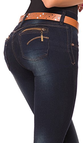 LT.Rose High Rise Skinny Jeans for Women | Pantalones Colombianos Levanta Cola