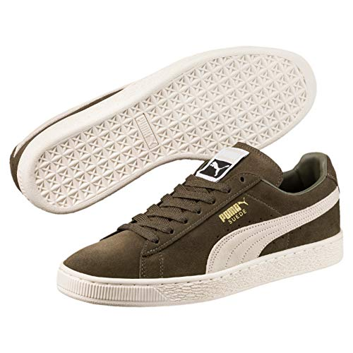 olive birch Sneaker Night Unisex Classic Puma Adulto Suede Verde Plus xU7nq0R