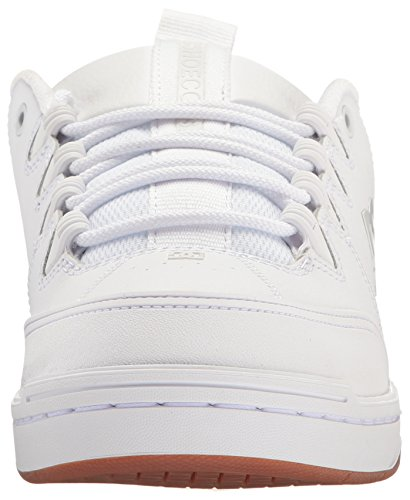 DC Skateboarding Syntax White Shoe Men's Gum FTFqr