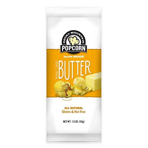 Rocky Mountain Popcorn 12-Pack 1.5 oz. Butter Popcorn