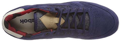 Marine Blue Leather Bleu Outdoor Classic 000000 REEBOK TPw8qW