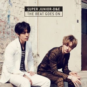 Super Junior D&E -[THE BEAT GOES ON]CD Package Sealed K-POP Donghae & Eunhyuk