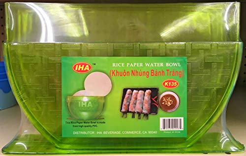 Green Rice Paper - New Star IHA Rice Paper/Egg Roll Water Bowl (Green)