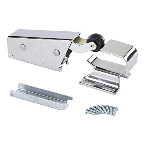 Kason 1095 Spring Action Door Closer and Adjustable Wide-Hook, Flush to 3/4 Inch Offset, 11095000013_11094000026 (Walking Freezer And Coolers)