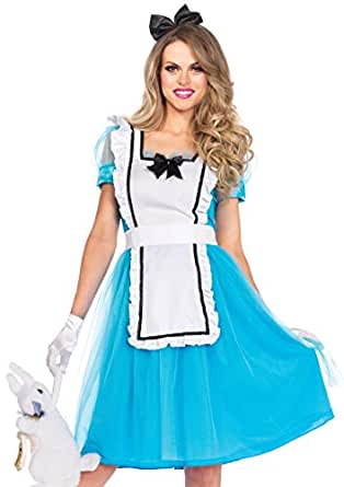 Women's Classic Alice Tea Length Costume 1X/2X