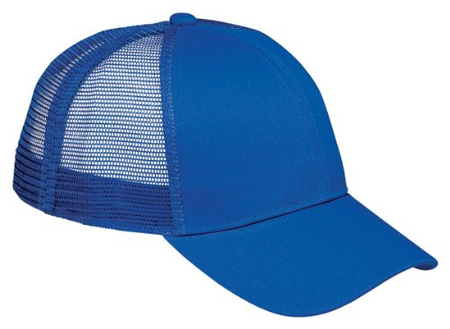 Bagedge Big Accessories (Big Accessories / BAGedge 6-Panel Structured Trucker Cap, royal, One Size)