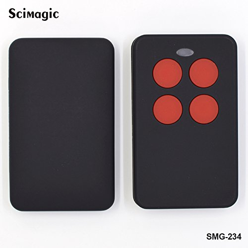 Price comparison product image Scimagic 4 Channel Multi-Frequency Cloning Remote Control 868 433 315 310 303 MHz Cloner (SMG-234) (Red)