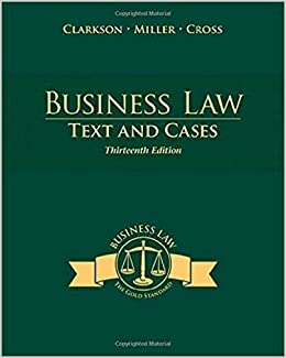 Southern New Hampshire University Business Law TEXT and CASES ...