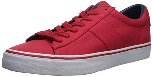 Ralph Lauren Polo Men Sayer Sneaker Red