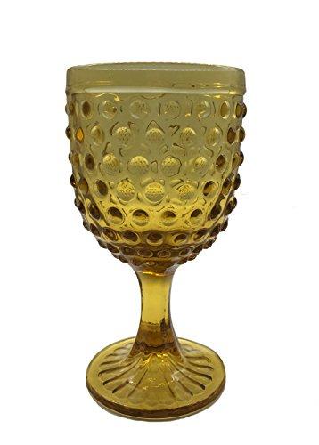 KCHAIN Wine Glass Goblet 10oz (Amber)