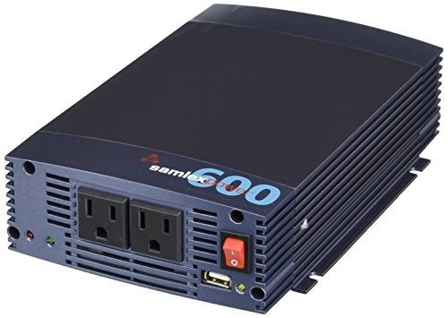Samlex SSW-600-12A 600-watt 12V Pure Sine Wave Inverter